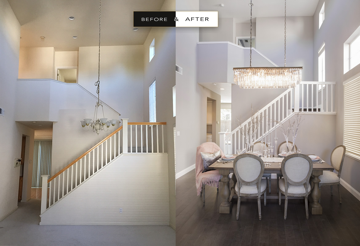 Before after atelier no l interior design for Interior designs photos